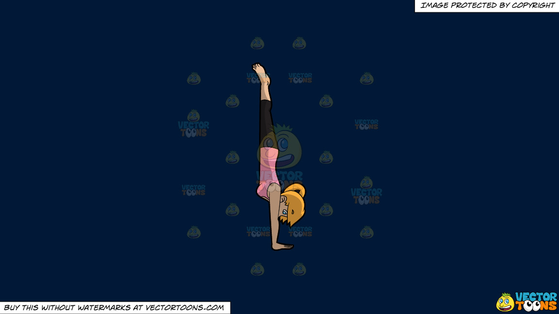 A Coming Out Of Boat Pose On A Solid Dark Blue 011936 Background thumbnail