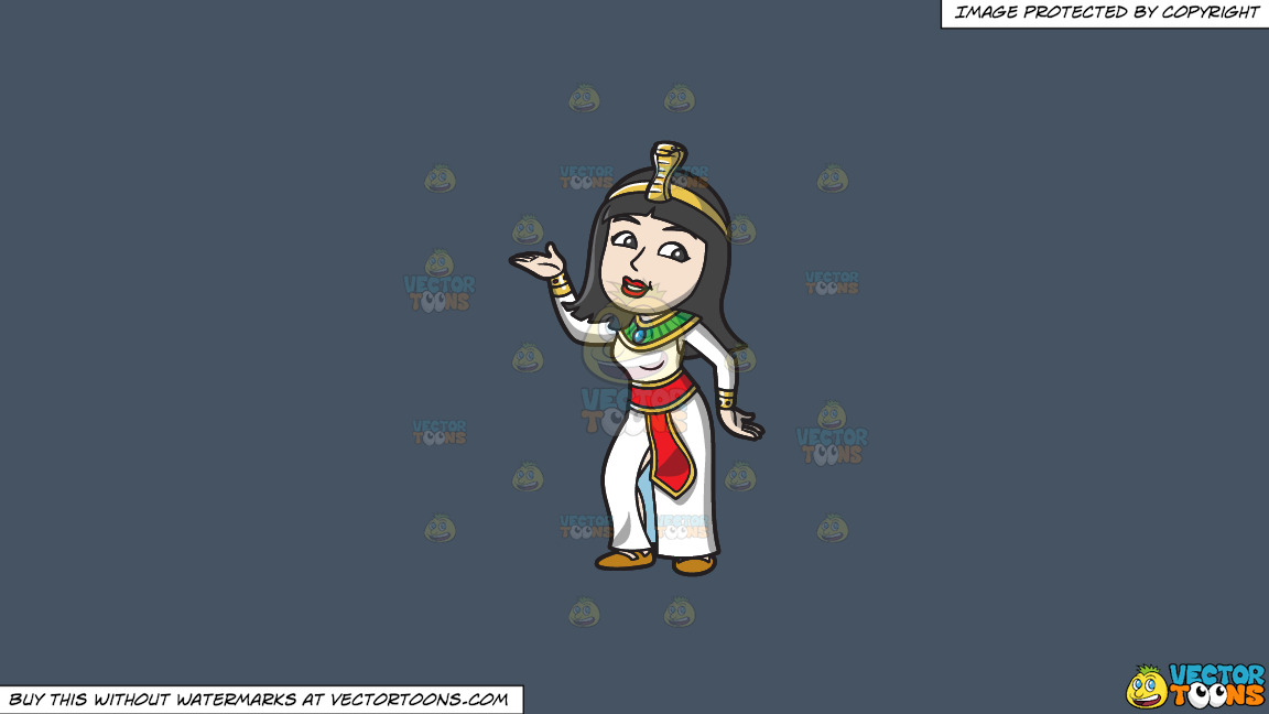 A Dancing Egyptian Princess On A Solid Metal Grey 465362 Background thumbnail
