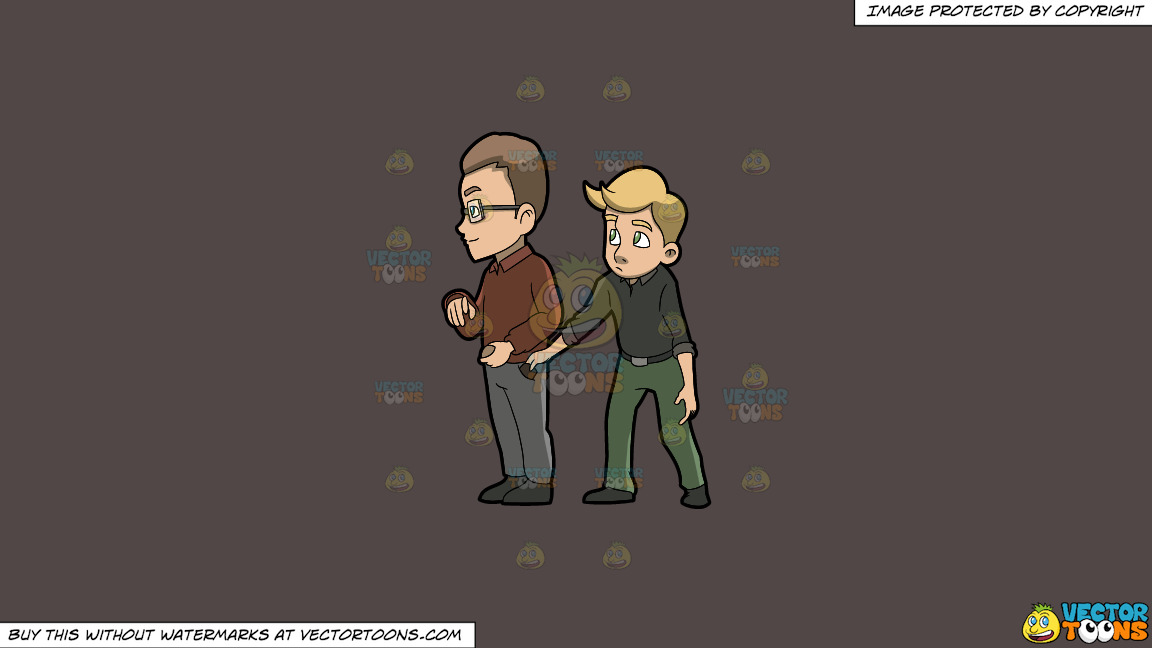 A Discreet Pickpocket Trying To Get The Wallet Of A Man On A Solid Quartz 504746 Background thumbnail