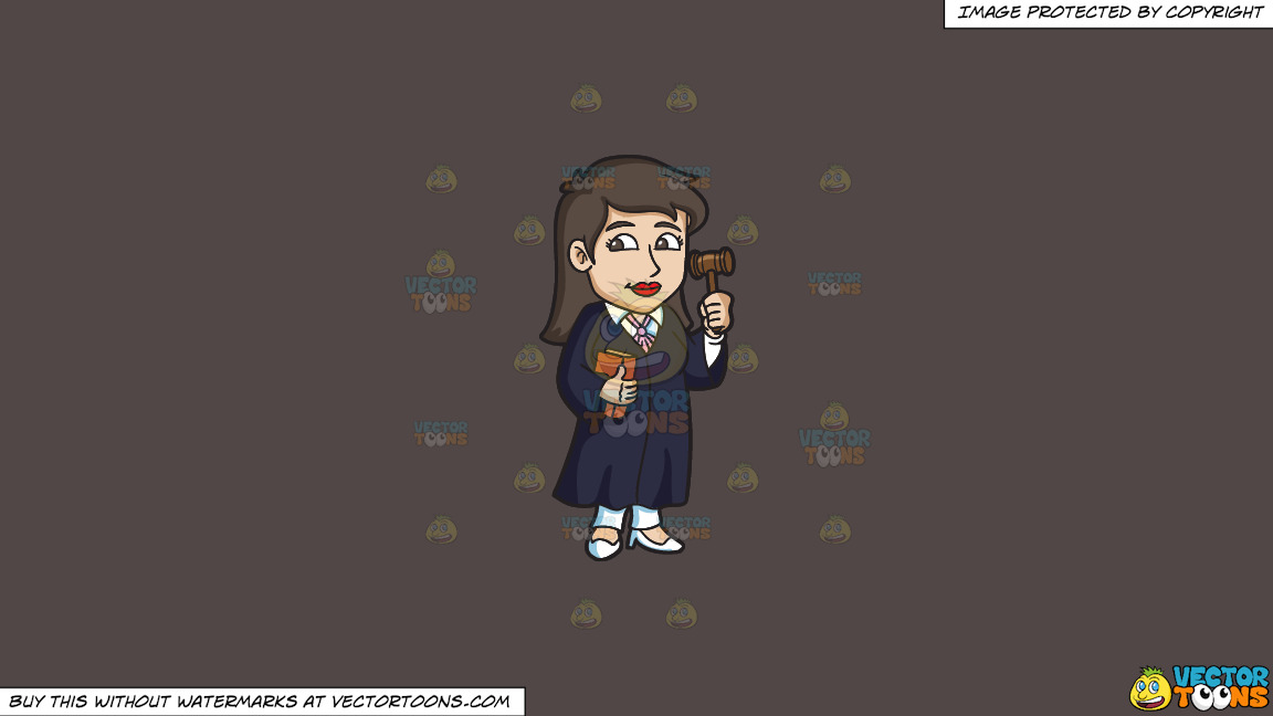 A Female Judge Holding A Gavel On A Solid Quartz 504746 Background thumbnail
