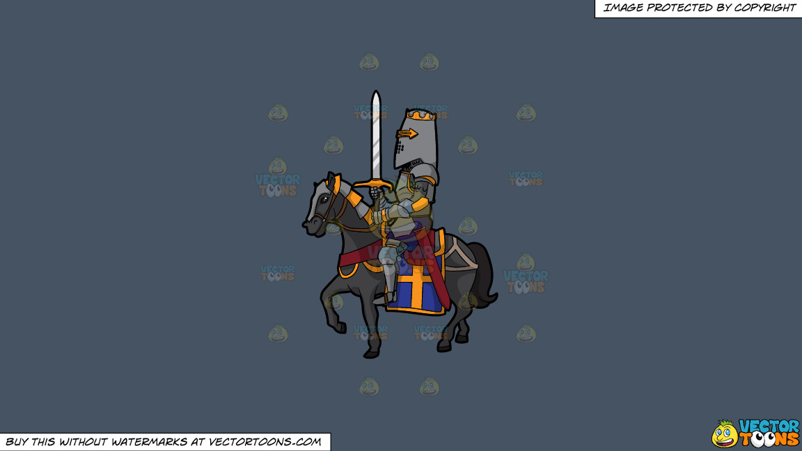 A Knight In Shining Armor On A Solid Metal Grey 465362 Background thumbnail