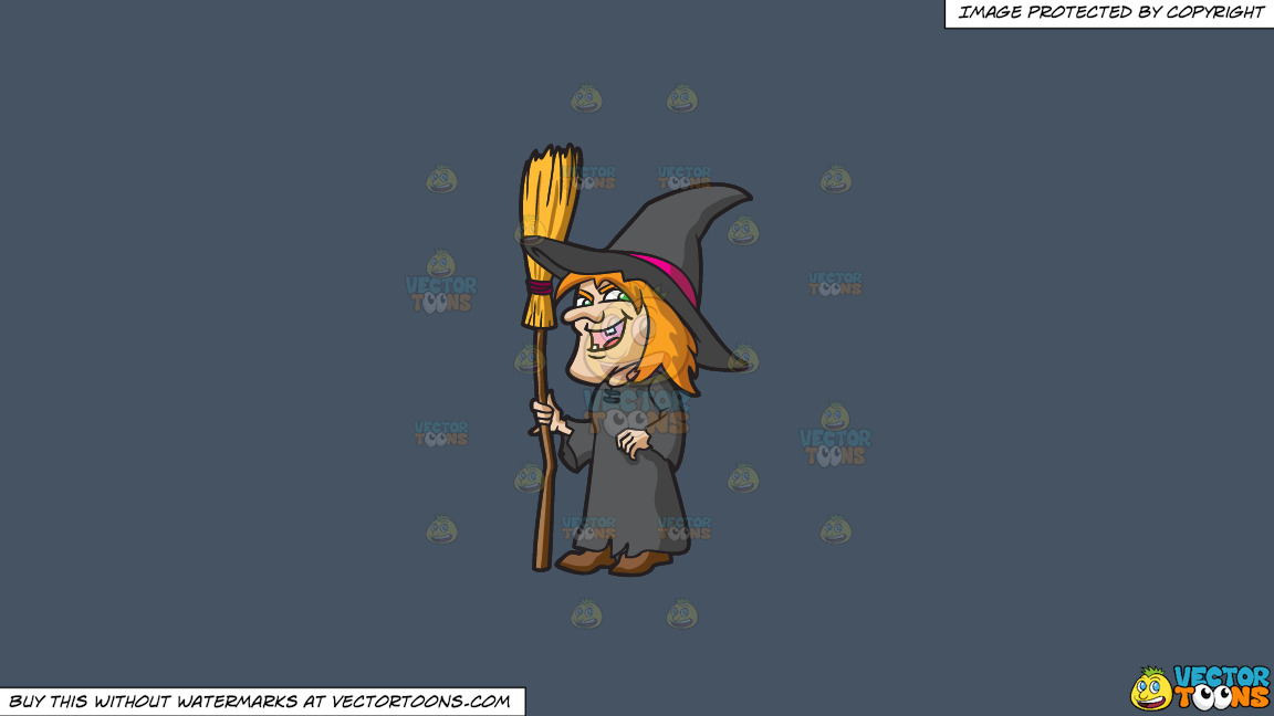 A Laughing Witch On A Solid Metal Grey 465362 Background thumbnail