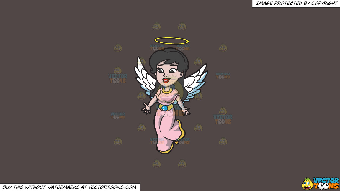 A Lovely Angel On A Solid Quartz 504746 Background thumbnail