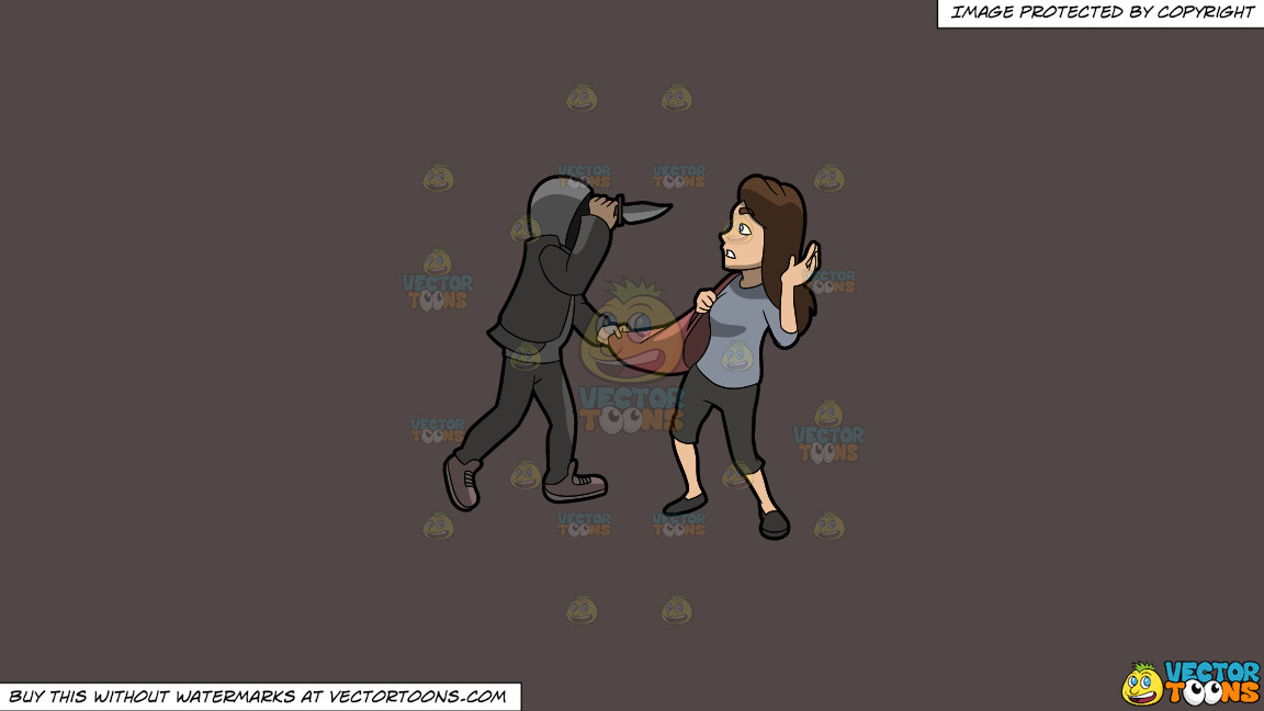 A Man Mugging A Woman With A Knife On A Solid Quartz 504746 Background thumbnail