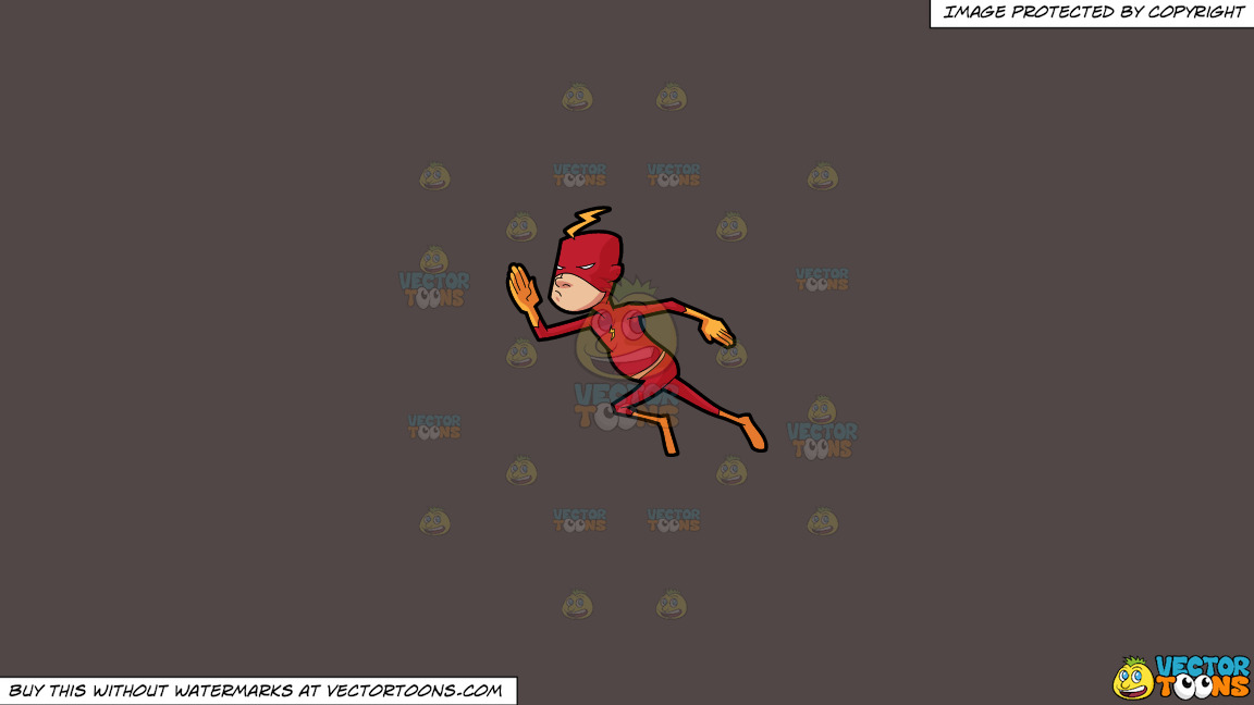 A Man Wearing A Red Super Hero Costume On A Solid Quartz 504746 Background thumbnail