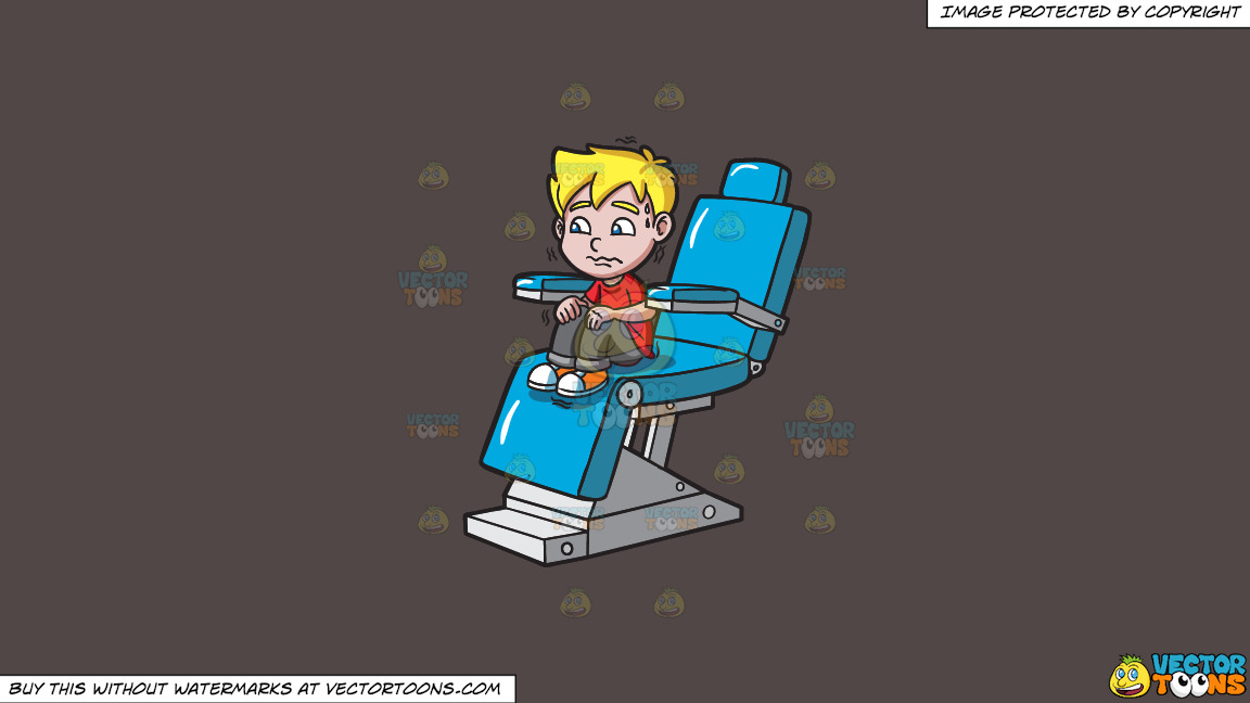 A Terrified Kid At The Dentist On A Solid Quartz 504746 Background thumbnail