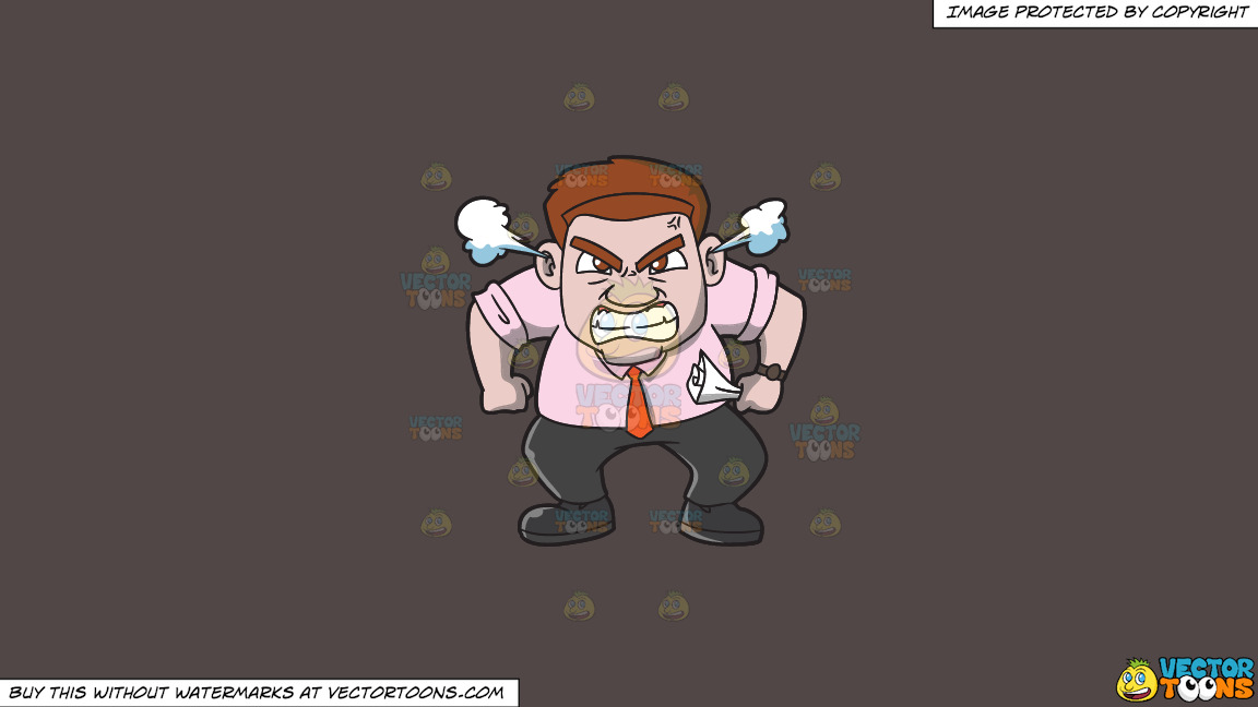 A Very Furious Man Crushing A Piece Of Paper In His Hand On A Solid Quartz 504746 Background thumbnail