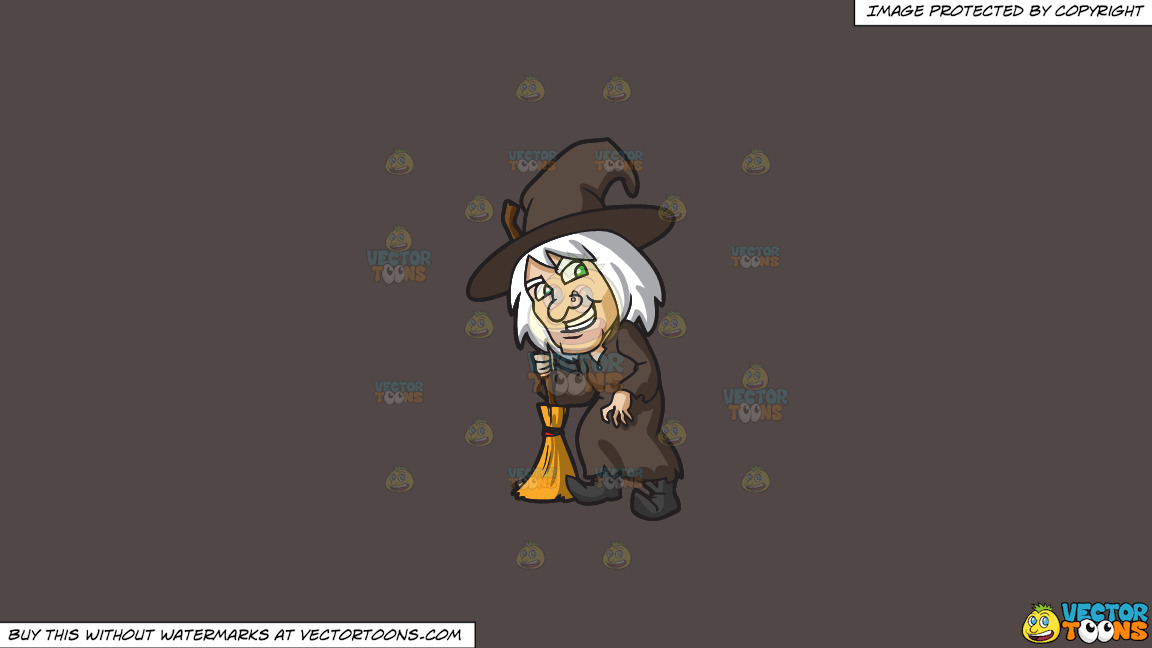 An Old Witch On A Solid Quartz 504746 Background thumbnail