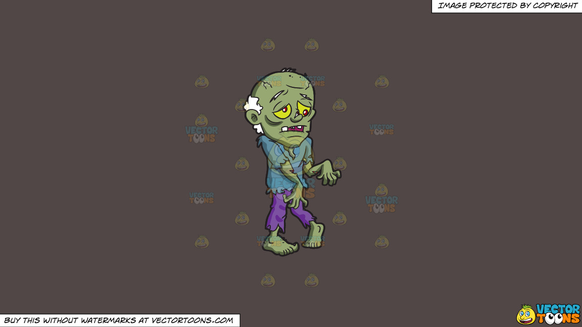 An Old Zombie On A Solid Quartz 504746 Background thumbnail