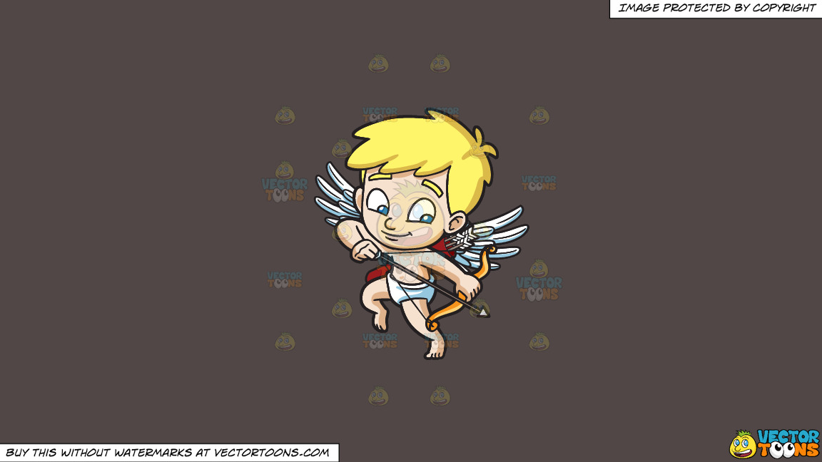 Cupid Shooting Down An Arrow On A Solid Quartz 504746 Background thumbnail