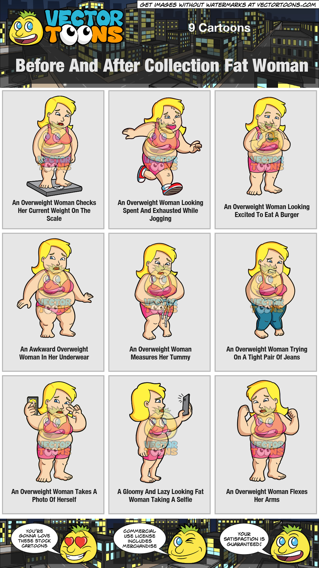 Before And After Collection Fat Woman thumbnail