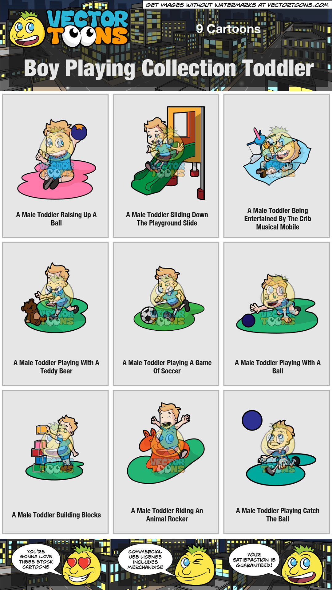 Boy Playing Collection Toddler thumbnail