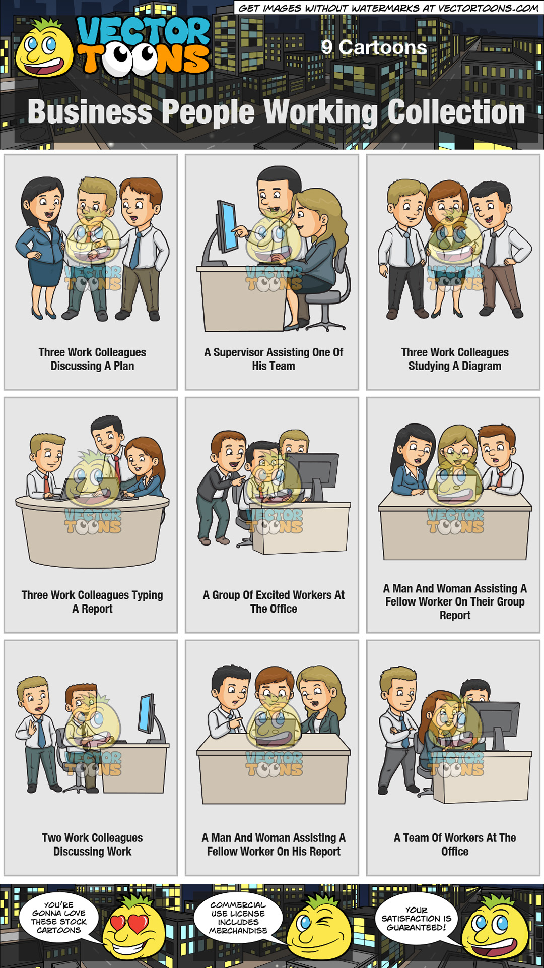 Business People Working Collection thumbnail