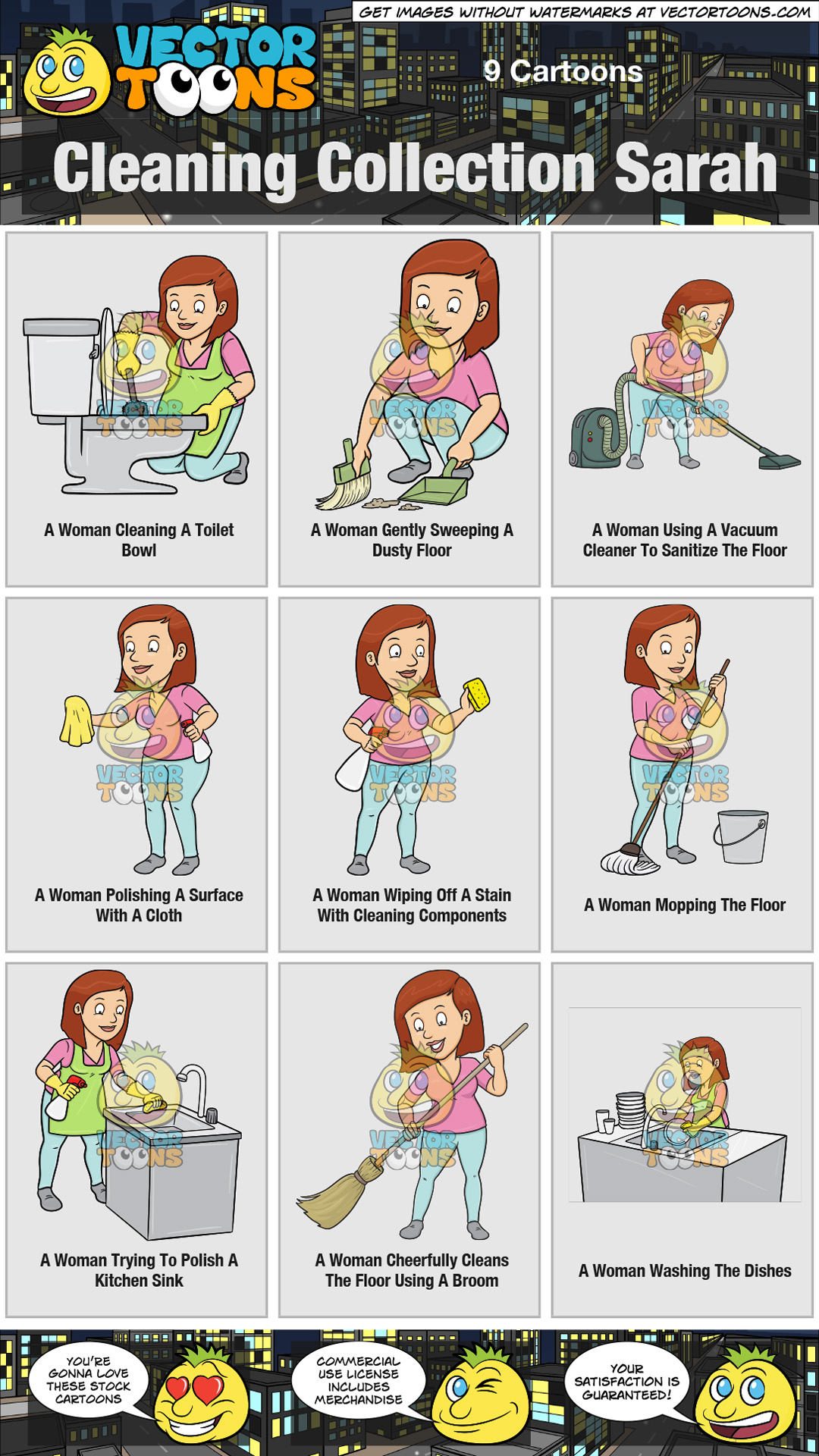 Cleaning Collection Sarah thumbnail