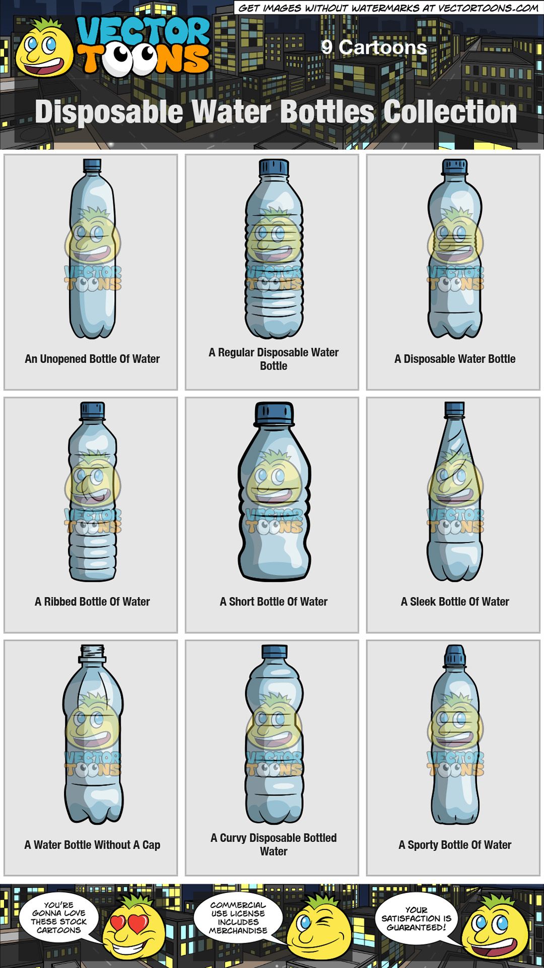Disposable Water Bottles Collection thumbnail