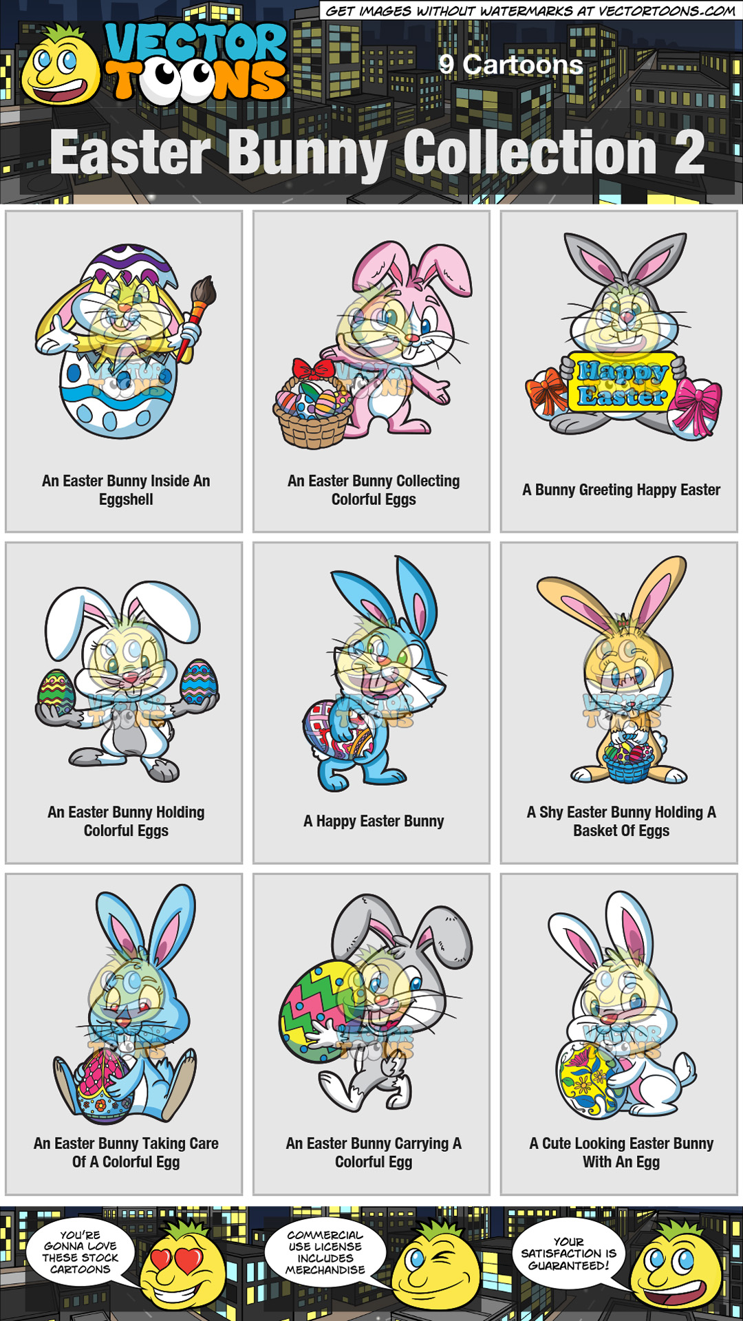Easter Bunny Collection 2 thumbnail