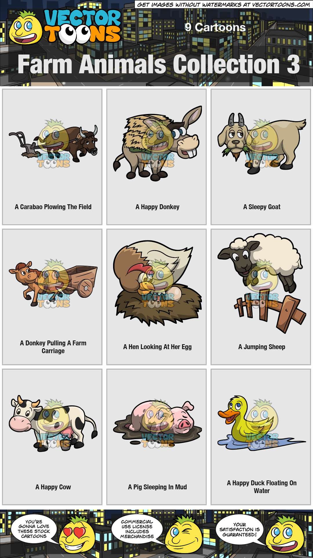 Farm Animals Collection 3 thumbnail