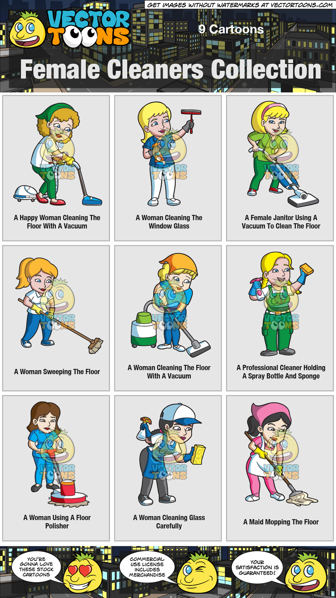 Female Cleaners Collection thumbnail