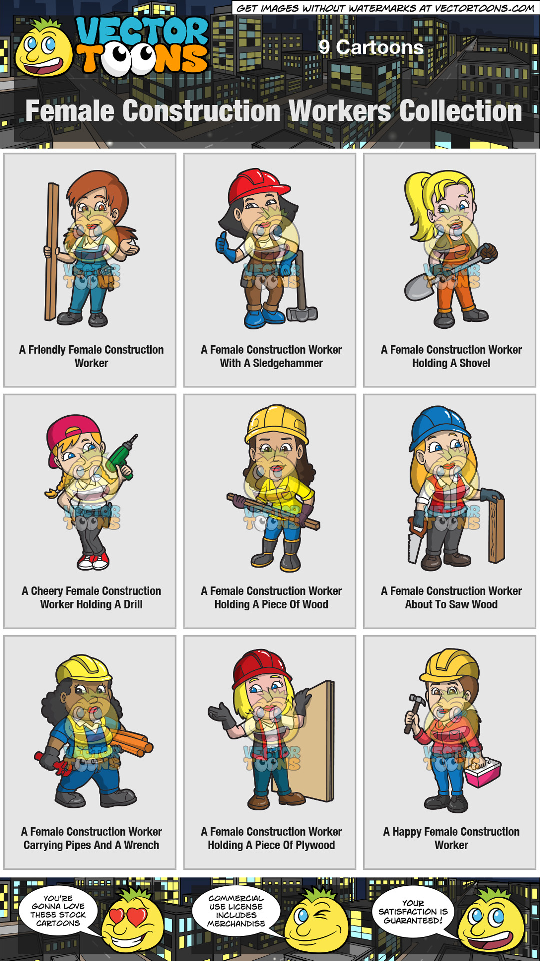 Female Construction Workers Collection thumbnail