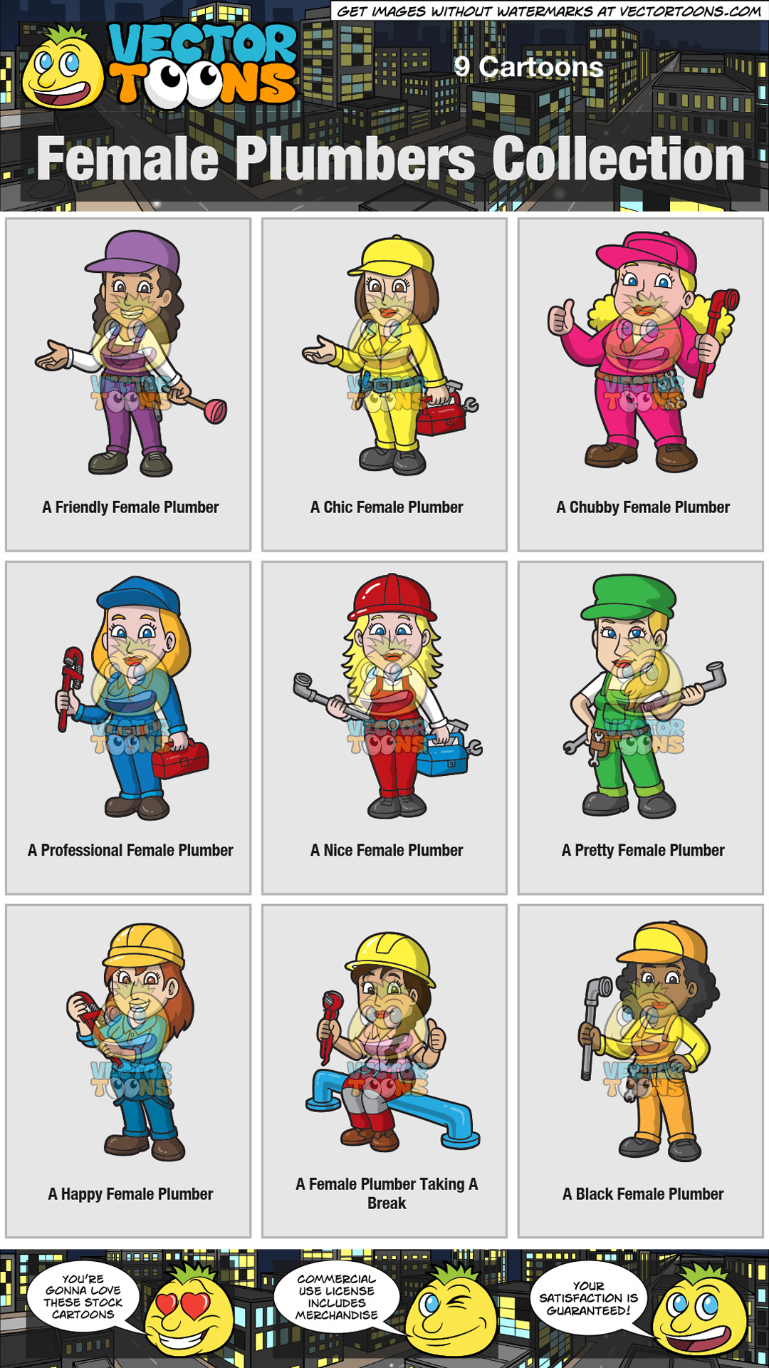 Female Plumbers Collection thumbnail
