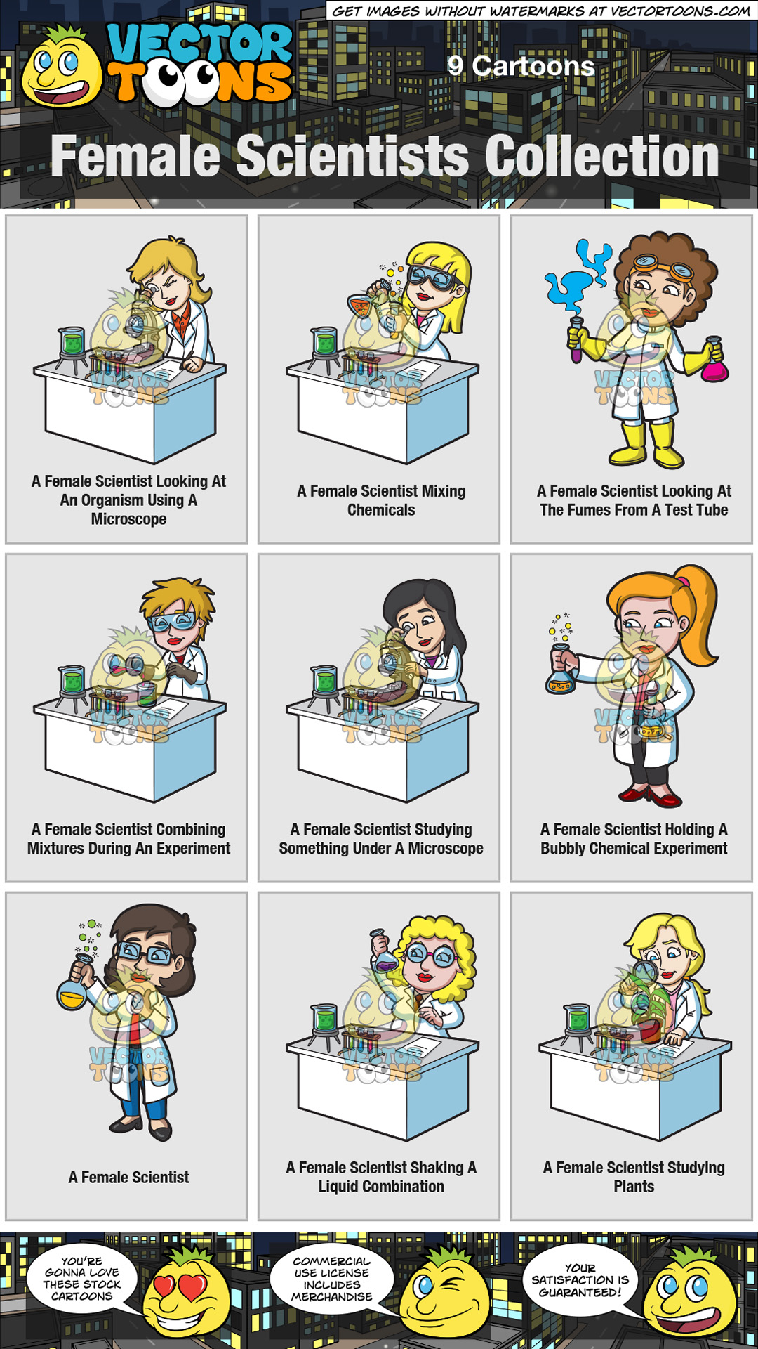 Female Scientists Collection thumbnail