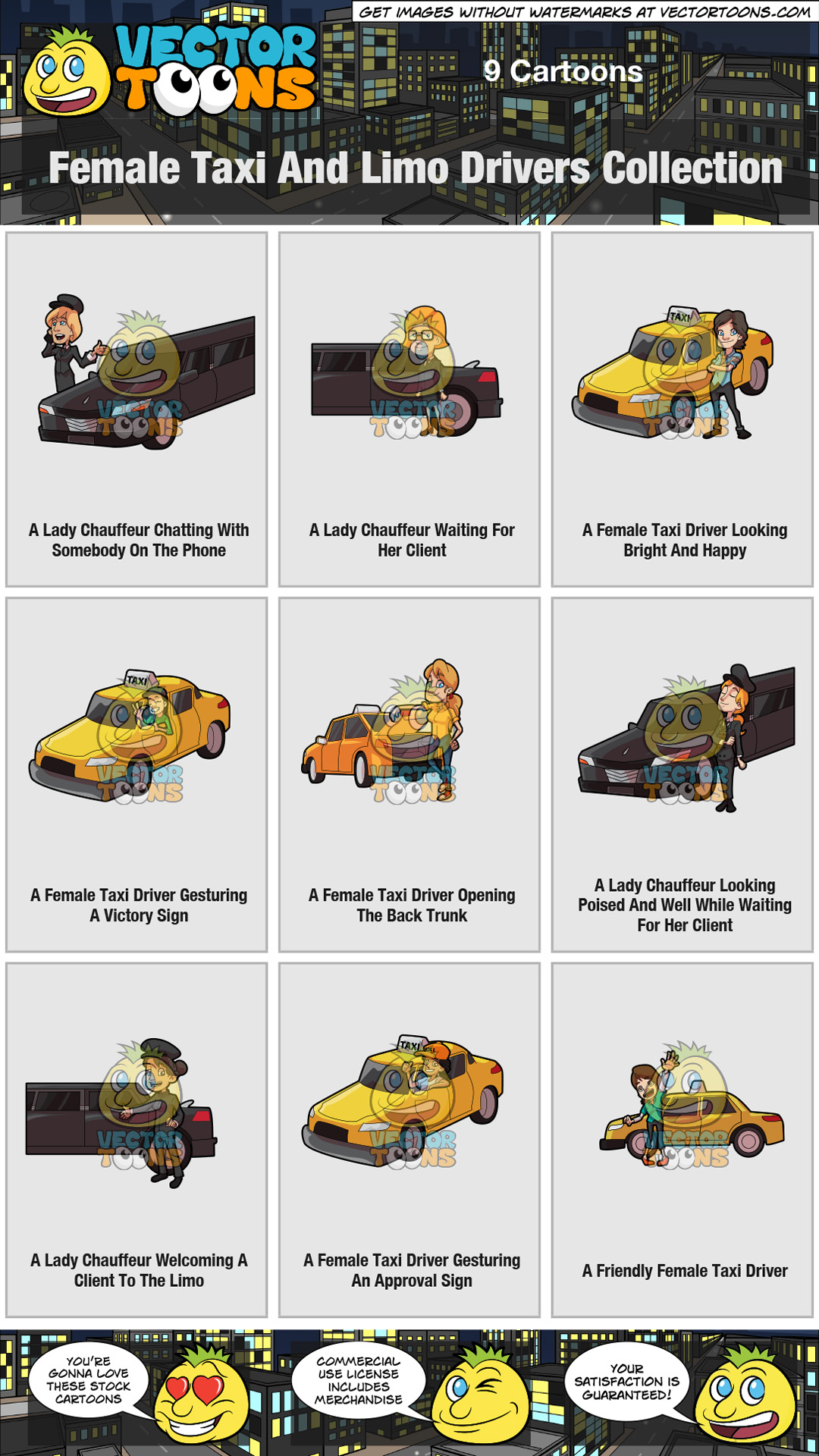 Female Taxi And Limo Drivers Collection thumbnail