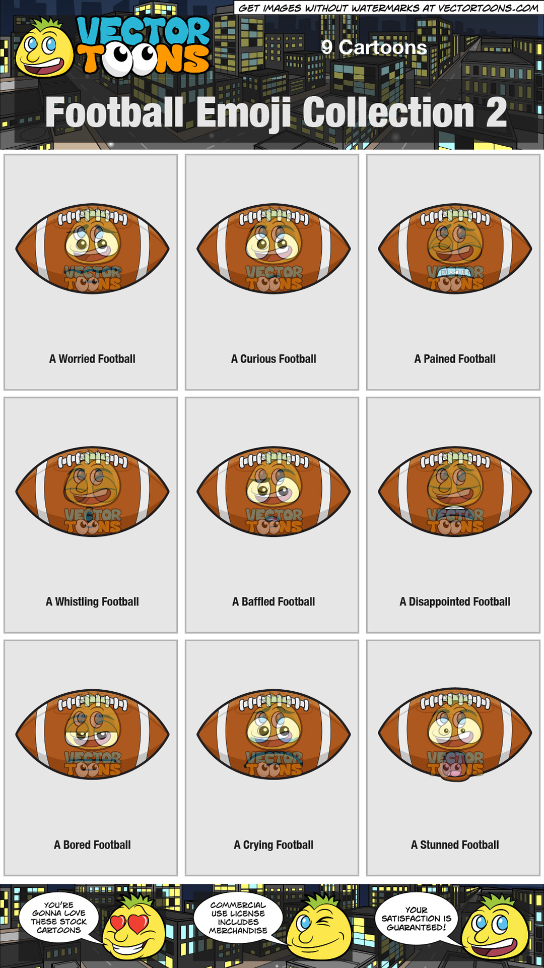 Football Emoji Collection 2 thumbnail