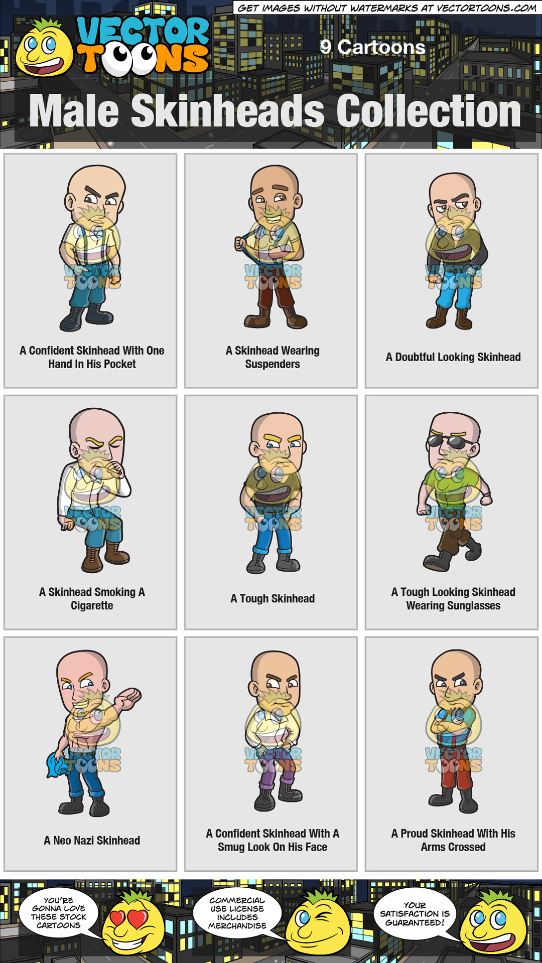 Male Skinheads Collection thumbnail