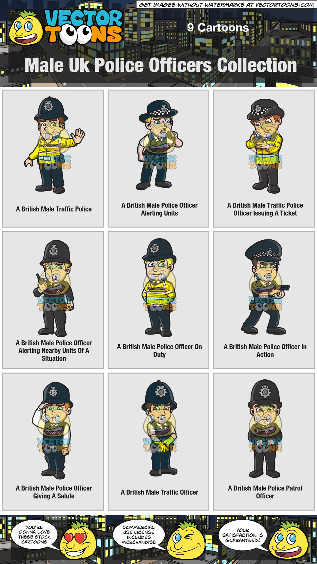 Male Uk Police Officers Collection thumbnail