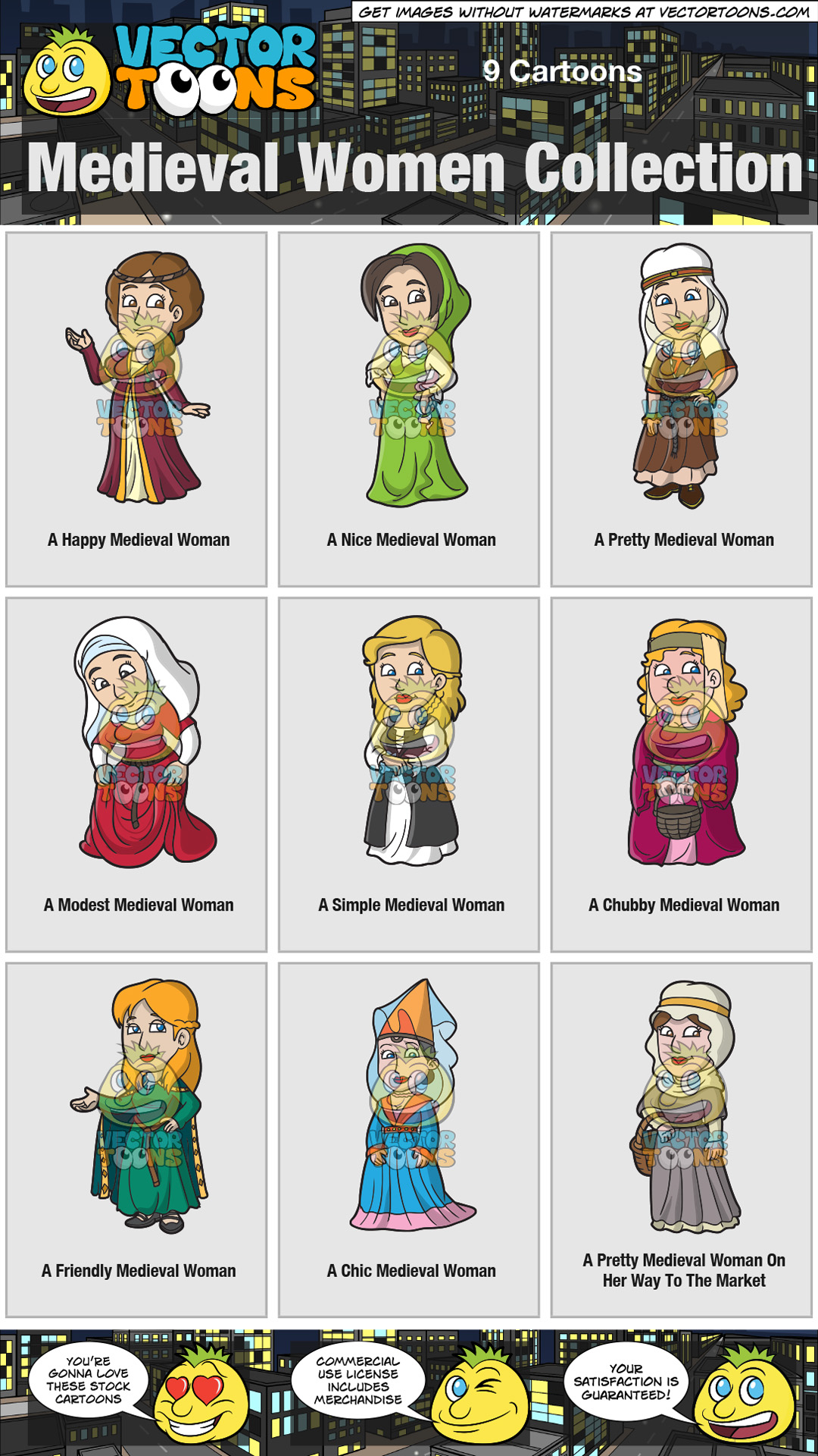 Medieval Women Collection thumbnail