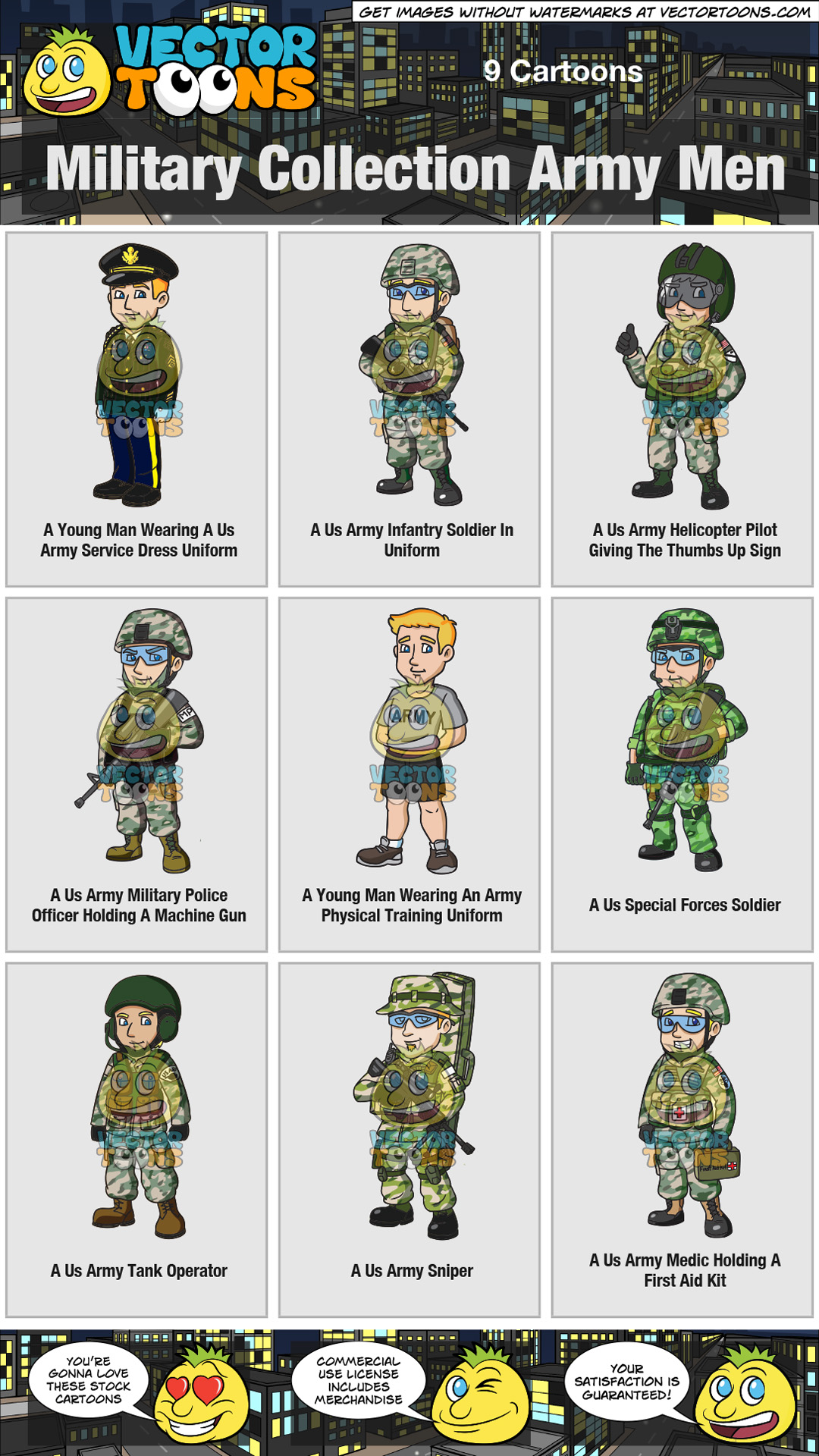 Military Collection Army Men thumbnail