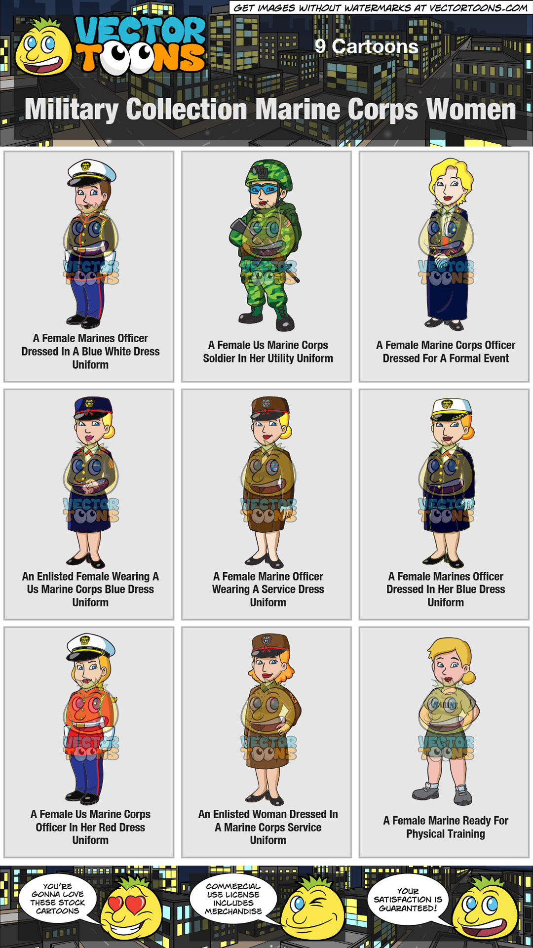 Military Collection Marine Corps Women thumbnail