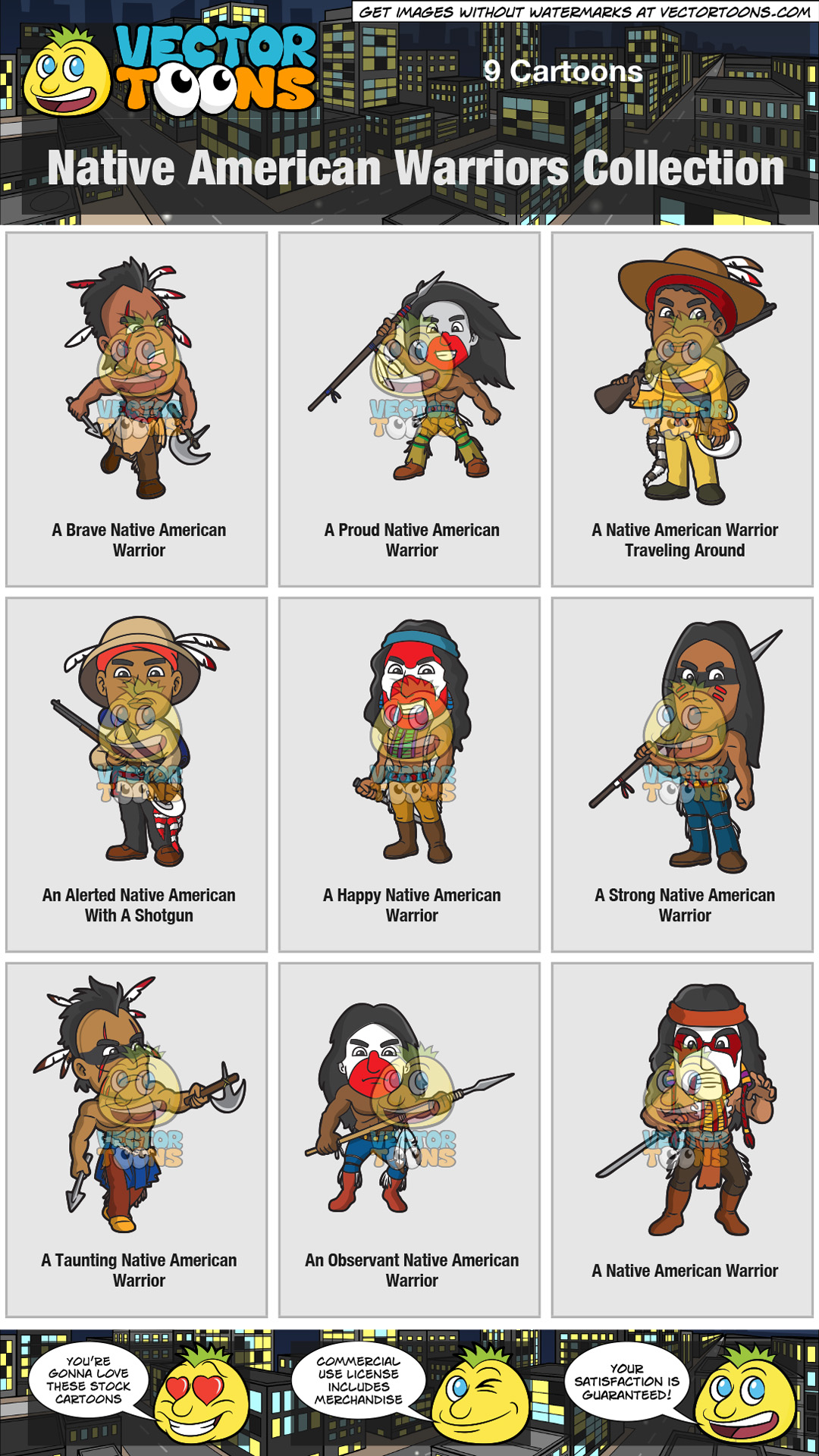 Native American Warriors Collection thumbnail