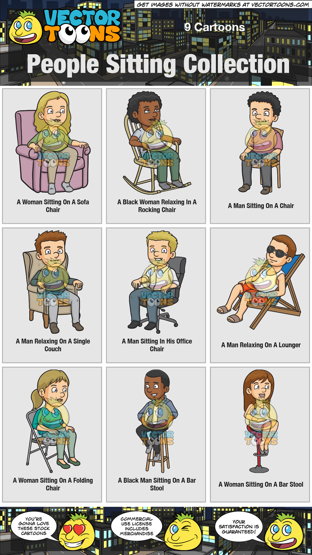 People Sitting Collection thumbnail