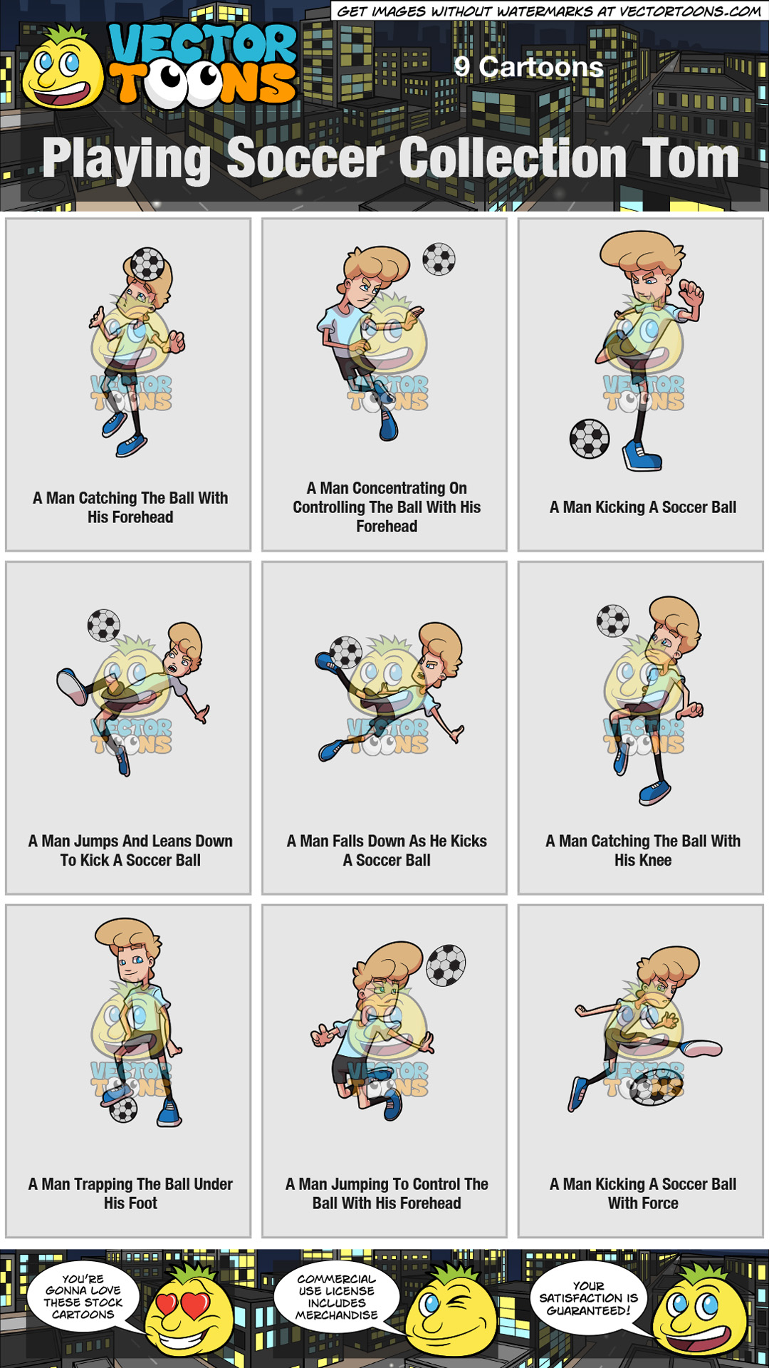 Playing Soccer Collection Tom thumbnail