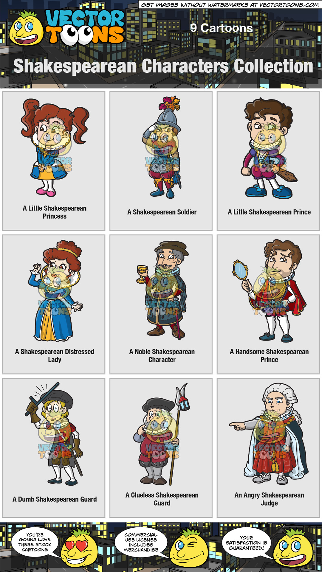 Shakespearean Characters Collection thumbnail