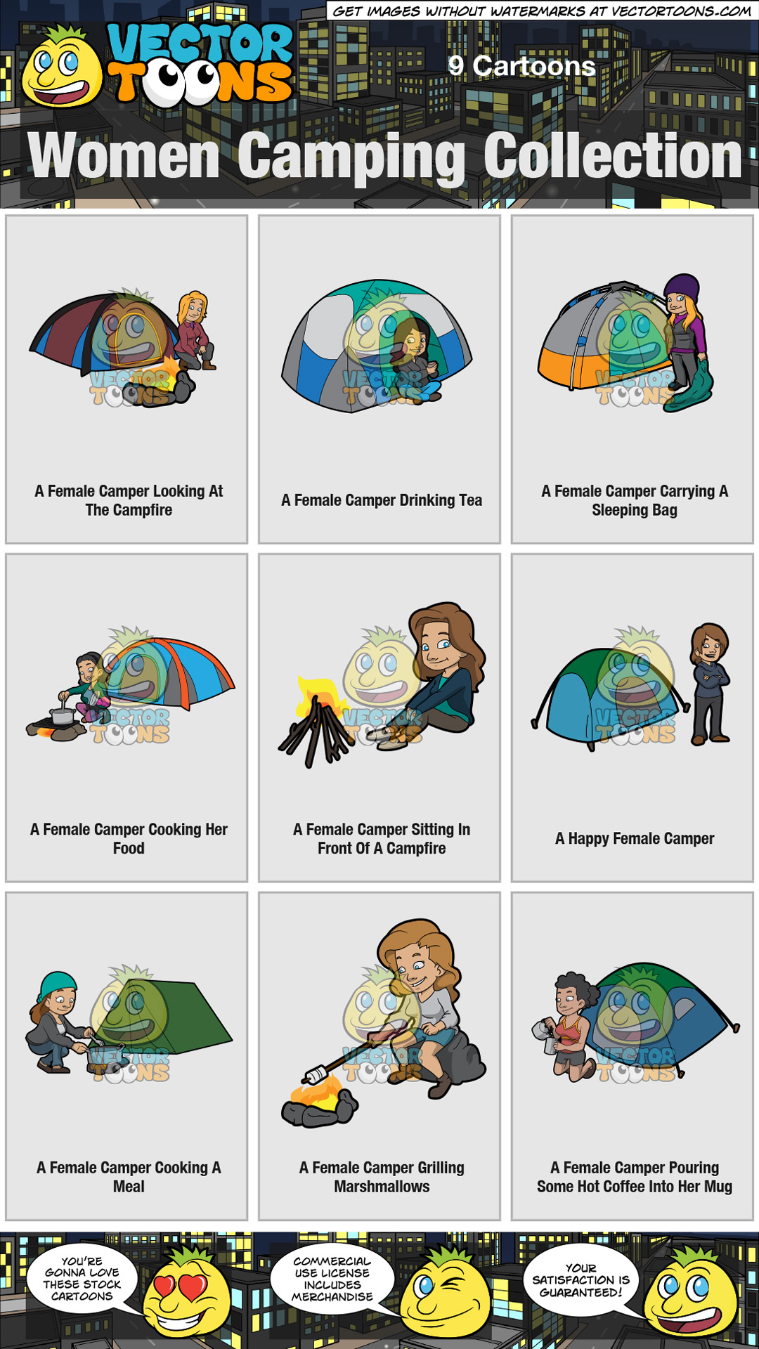 Women Camping Collection thumbnail