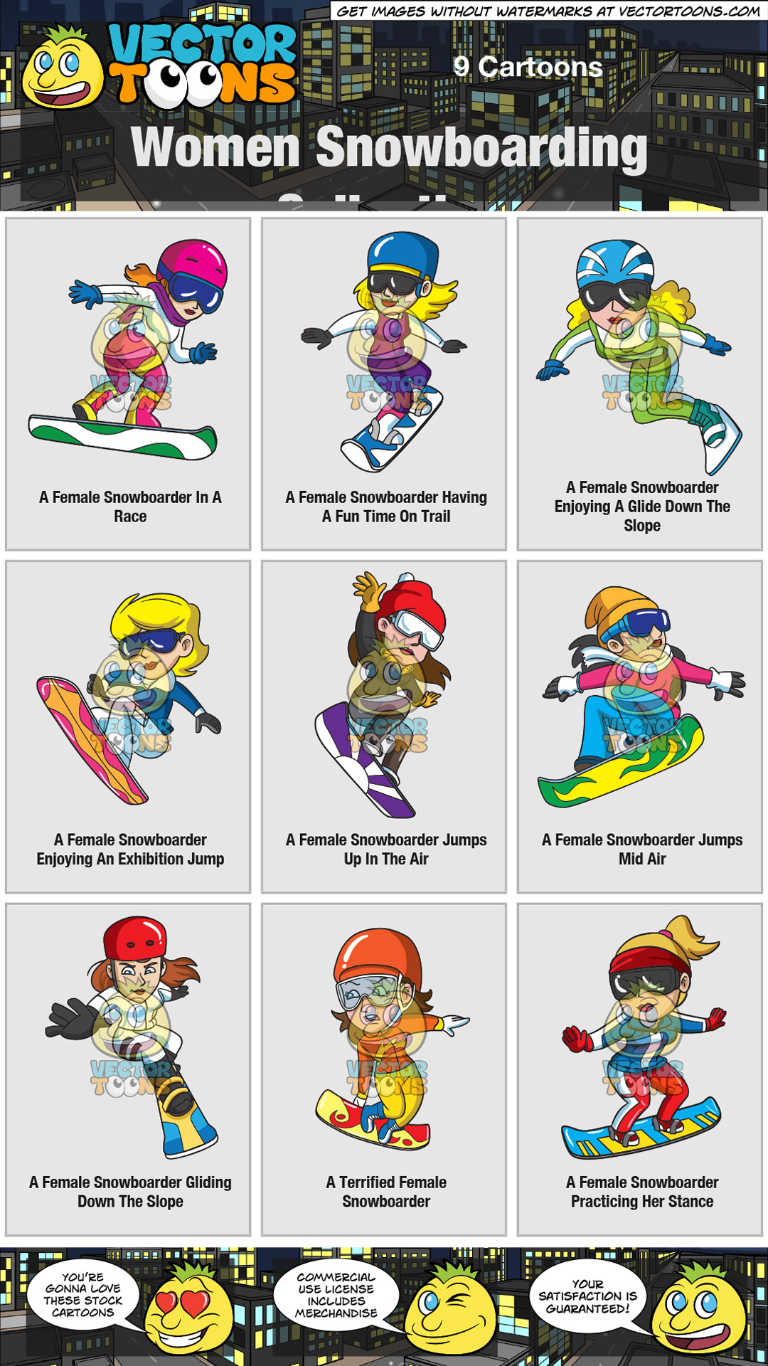 Women Snowboarding Collection thumbnail