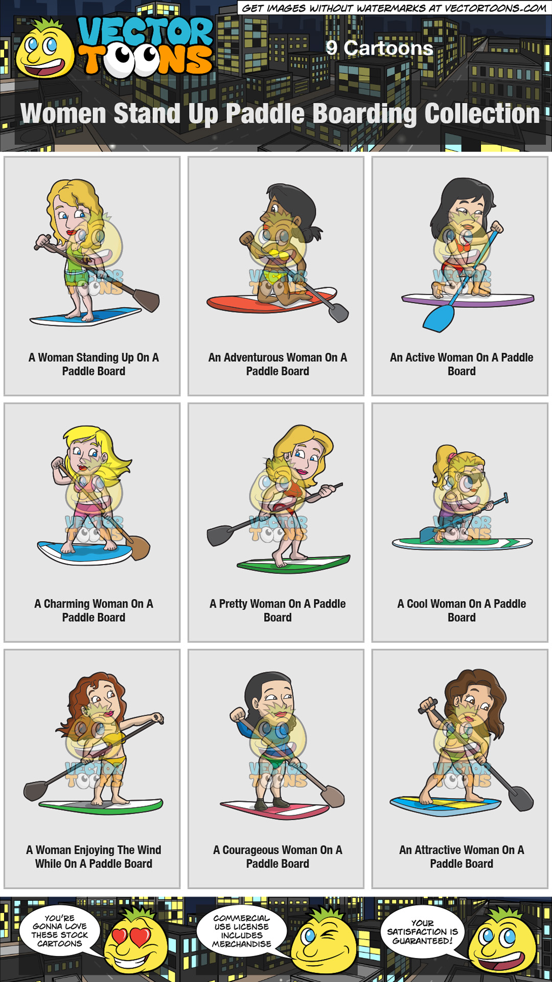 Women Stand Up Paddle Boarding Collection thumbnail