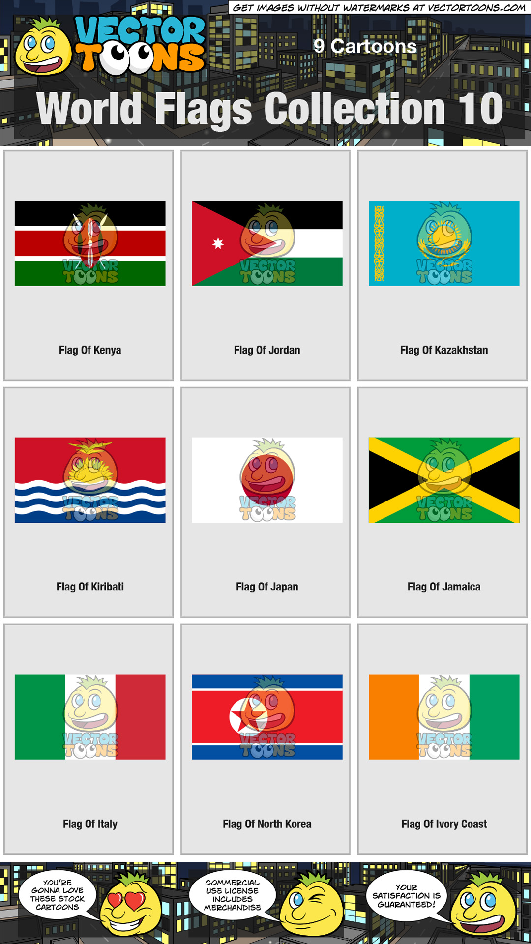 World Flags Collection 10 thumbnail